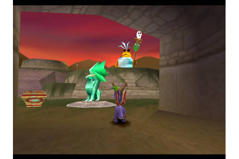 Spyro the Dragon (PS1) | bluespyro