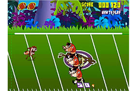 Taz Football Frenzy Game - Play online at Y8.com