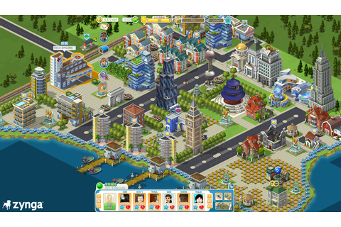 Zynga City, the Chinese CityVille, launches on Tencent ...