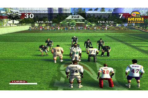 NFL Street 2 HD Pickup Game vs. NFL Legends Hard Mode ...