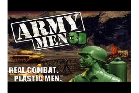 Classic PS1 Game Army Men 3D on PS3 in HD 1080p - YouTube