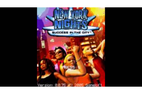 New York Nights Gameloft 2005 All Sound Effects - YouTube