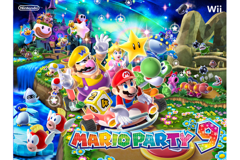 gamecube world: Mario Party 9