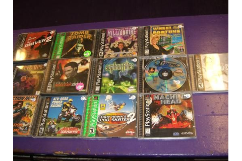13 games for Sony PS1 Playstation 1 3xtreme Action Man ...