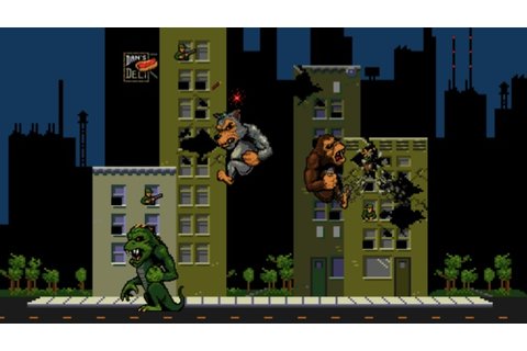 You Can Now Play the Classic Rampage Arcade Game for Free ...