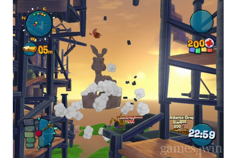 Worms 4: Mayhem Download on Games4Win