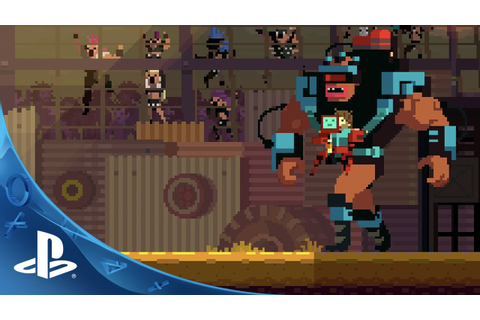 Super Time Force Ultra - PlayStation Experience Trailer ...