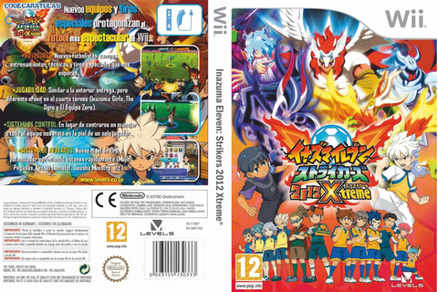 Ultra Capas: Inazuma Eleven Strikers 2012 Xtreme - Wii