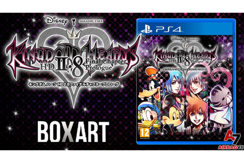 Kingdom Hearts HD 2.8 Final Chapter Prologue | Boxart ...