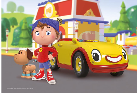 Our favourite childhood cartoon, Noddy, is looking very ...