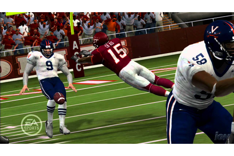 NCAA Football 08 PlayStation 3 Gameplay - Launch Trailer ...