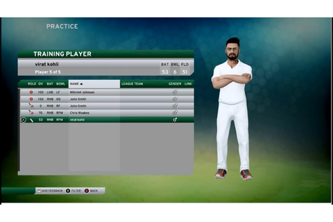 Don Bradman Cricket 17 Game Play - Virat Kohli Batting ...
