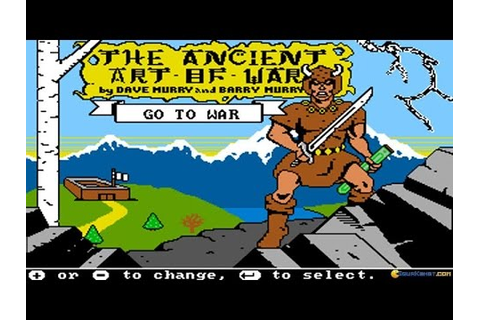 Ancient Art of War gameplay (PC Game, 1984) - YouTube