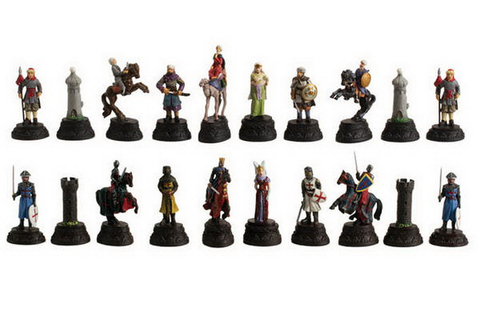 Opentip.com: CHH 2125G Crusade Chess Set