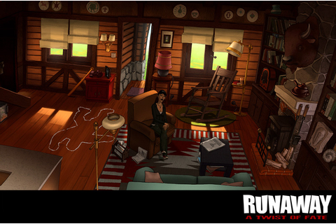gratis-gratis dan gratis: runaway a twist of fate PC Game ...