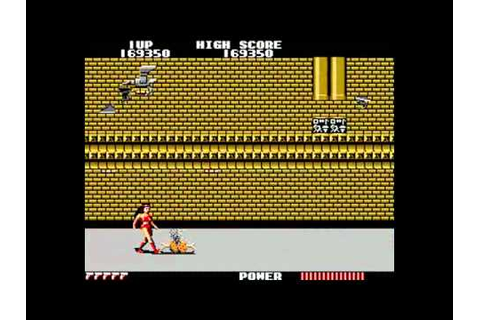 Flashgal - Arcade game (1985) played on Mame, all 11 ...