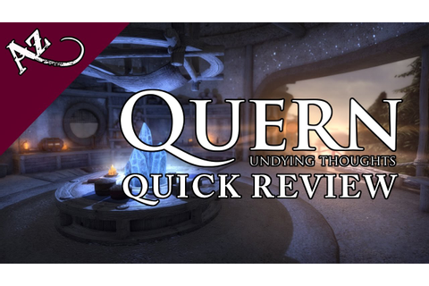 Quern - Undying Thoughts - Quick Game Review (PC) - YouTube
