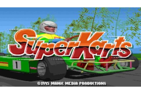 Super Karts gameplay (PC Game, 1995) - YouTube