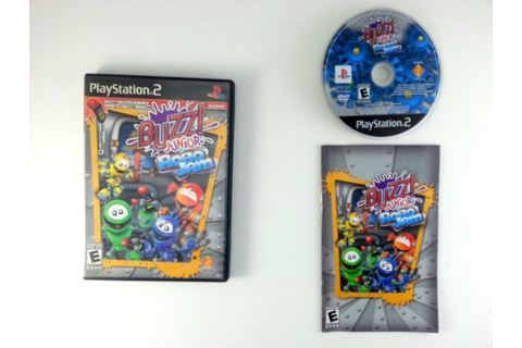 Buzz! Junior: Robo Jam game for Playstation 2 (Complete ...