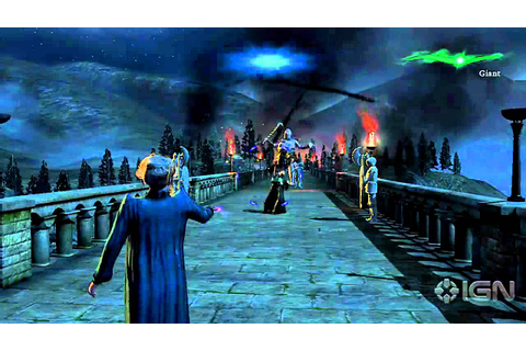 Harry Potter Deathly Hallows Part 2: Gameplay - YouTube
