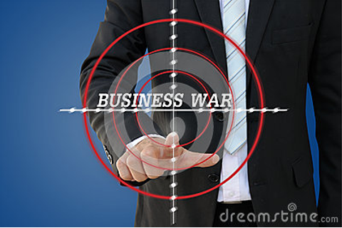 Business War Games Of Competition Concept Stock Photo ...