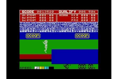 Daley Thompson's Decathlon on the ZX Spectrum - YouTube