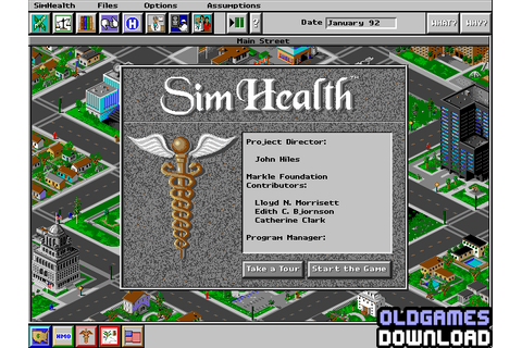 SimHealth Download - Old Games Download