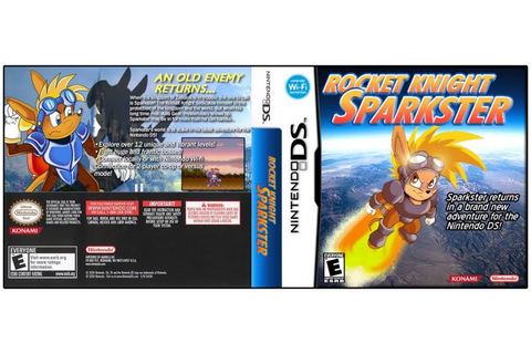 [Box Art] Rocket Knight Sparkster: New DS game!