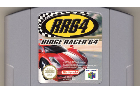 Classic Game Room - RIDGE RACER 64 review for Nintendo 64 ...