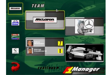 F1 Manager 96 Game Download