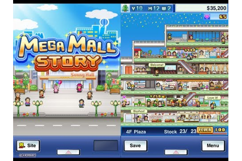 Mega Mall Story iPhone/iPod Gameplay - YouTube