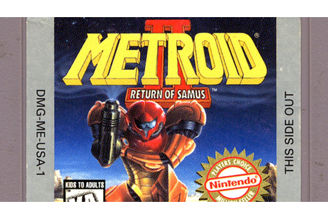 Classic Game Room - METROID II: RETURN OF SAMUS review for ...