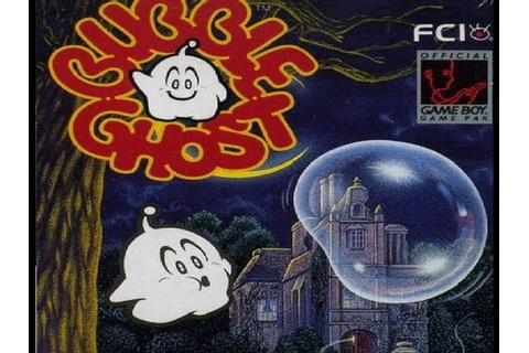 Retro Review: BUBBLE GHOST (Game Boy) - YouTube
