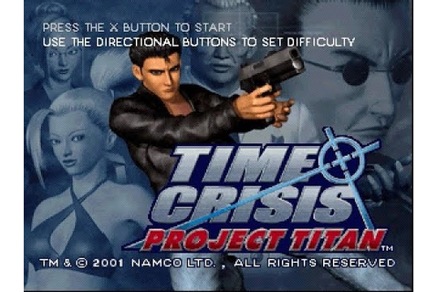 PSX Longplay [217] Time Crisis Project Titan - YouTube