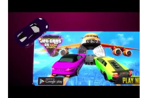 Jet Cars Stunts GT Racing Flying Car Racing Games - YouTube