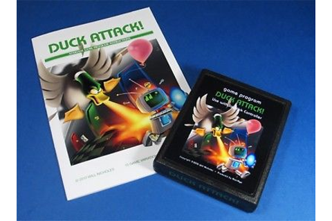 Duck Attack - Original Atari 2600 Homebrew Game - New! | eBay