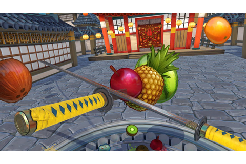 Fruit Ninja VR - Survival Mode Gameplay - YouTube
