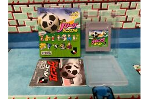 J League Winning Goal Game Boy Japan Nintendo boxed | eBay