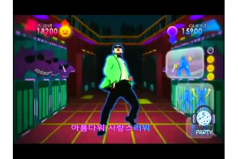 KPop Dance Festival | PSY - Gangnam Style | Gameplay Wii ...