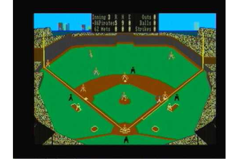 1986 Pirates @ 1962 Mets Earl Weaver Baseball Amiga - YouTube