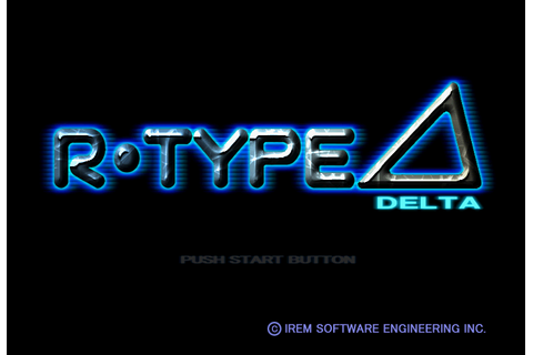 R-Type Delta (PSX) Game - Playstation R-Type Delta (PSX)