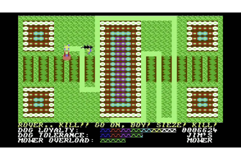 C64-Longplay - Hover Bovver -first 10 levels (720p) - YouTube