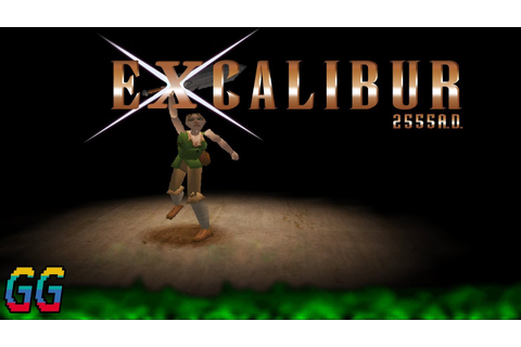 PS1 Excalibur 2555 A.D. 1997 (Console) PLAYTHROUGH - YouTube