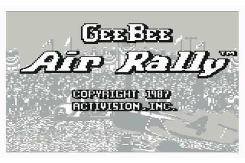 Download Gee Bee Air Rally - My Abandonware