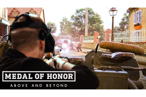 Medal of Honor: Above and Beyond On Oculus Rift - Official ...