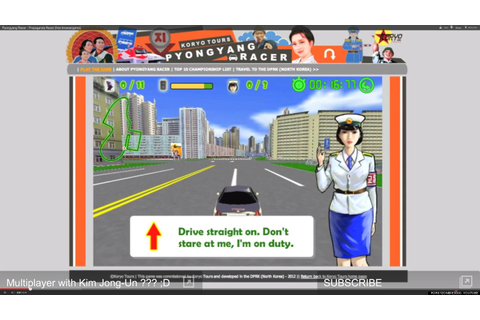 Pyongyang Racer: North Korean Video Game Gets Western ...