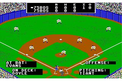 Micro League Baseball 2 Download (1989 Sports Game)