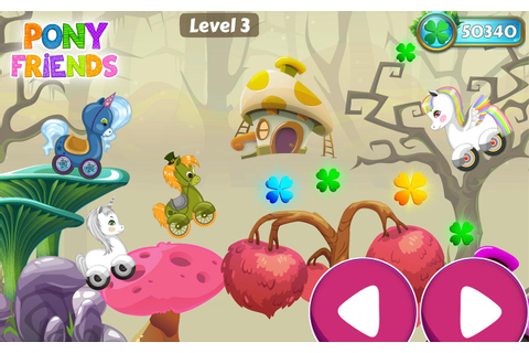 Pony Friends 🦄 - Beepzz racing game for kids - Android ...