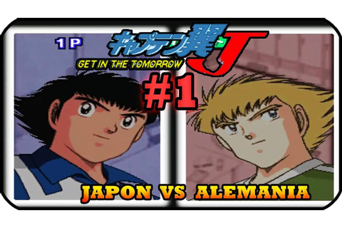 Captain Tsubasa J Get In The Tomorrow Gameplay Parte 1 ...