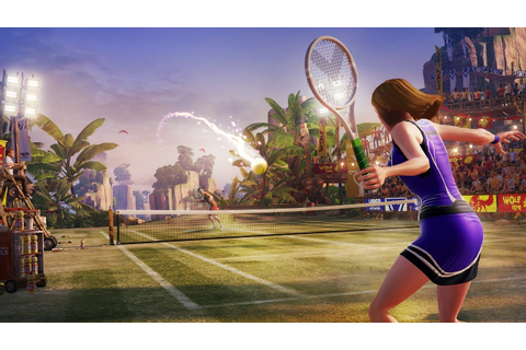 Kinect Sports Rivals Tennis - Xbox One Let's Play - YouTube